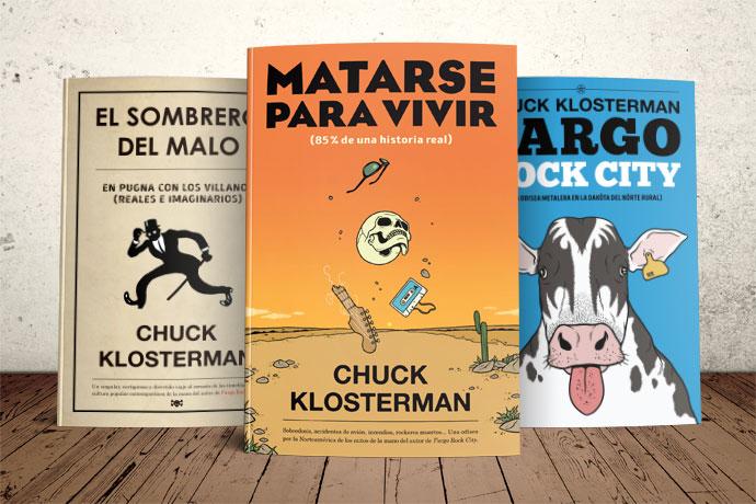 ¡Chuck Klosterman está de vuelta! El autor de El sombrero del malo regresa  a Es Pop Ediciones por partida doble. Por un lado e84df7e4d9a